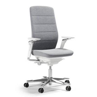 grijze ergonomische bureaustoel