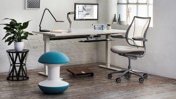de ergonomische werkplek